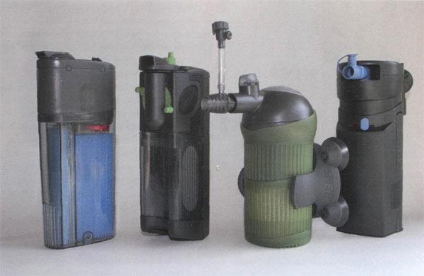 внутренний фильтр с моторчиком